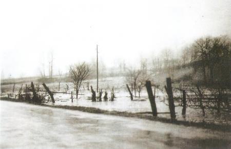 Vues de la Crue de 1955